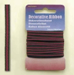 Hobby & Crafting Fun Decoratie Lint 12101-0124 Multi Fuchsia