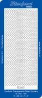 Stickervel Starform Transparant Glitter 1168 Diverse randen