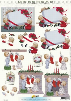 Morehead A4 Kerst Knipvel 076 Kerstsok