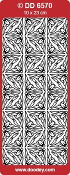 Sticker Doodey DD6570 Hoekjes Samanta