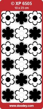 Doodey stickervel XP6505 Bloemen