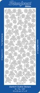 Sticker Rouw Starform 1257 Roosjes