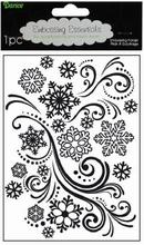 Darice embossing folder 1218-39 Snowflakes
