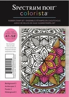 Spectrum Noir Colorista A6 Rubber Stamp - Back 3