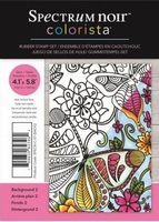 Spectrum Noir Colorista A6 Rubber Stamp - Back 2