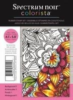 Spectrum Noir Colorista A6 Rubber Stamp - Back 1
