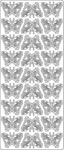 Stickervel Kangaro 1631 Vlinders