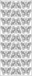 Sticker Dieren Peel-off 1631 Vlinders