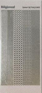 Stickervel Shiny Details SDS005TZ Hearts