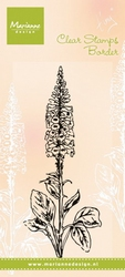 MD Clear stamps TC0848 Tiny's Foxgloves