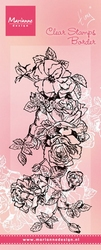 MD Clear stamps TC0847 Tiny's Border roses