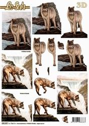 Le Suh 3D Stansvel 680005 Wolf