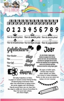 Stempel Yvonne Creations YCCS10031 Tots and Toddlers tekst