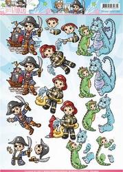 3D Knipvel Yvonne CD10826 Tots and Toddlers Jongens verklede