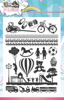 Stempel Yvonne Creations YCCS10030 Tots and Toddlers