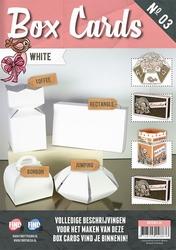 Box Cards 3 BXCS003-01 Wit