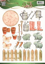 3D Knipvel Jeanines Art 10833 Garden Classics Garden Tools 2