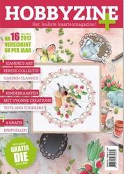 Hobbyzine Plus 16 + Jeanines Art Die JAD10004 Garden Classic