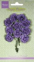 MD Paper Flowers RB2261 Carnations - dark lavender/lavendel
