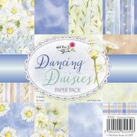 Wild Roses Studio Paper Pack PP052 Dancing Daisies