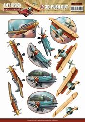 3D Stansvel Amy Design SB10152 Vintage Vehicles Planes