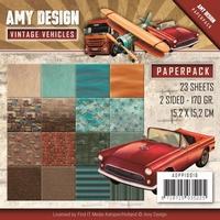 Amy Design Paperpack ADPP10016 Vintage Vehicles