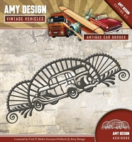 Amy Design Die Vintage Vehicles ADD10095 Antique car border
