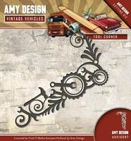 Amy Design Die Vintage Vehicles ADD10097 Tool Corner