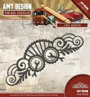 Amy Design Die Vintage Vehicles ADD10096 Tool Border