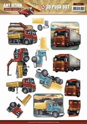 3D Stansvel Amy Design SB10153 Vintage Vehicles Trucks