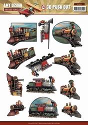 3D Stansvel Amy Design SB10154 Vintage Vehicles Tains/trein