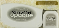 Stazon Opaque & Inker SZ-000-110 Cotton White Set