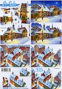A4 Knipvel Le Suh Kerst 4169730 Winteravond