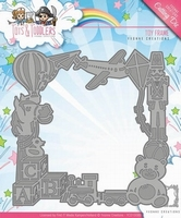 Yvonne's Die YCD10089 Tots and Toddlers Toy Frame/speelgoed