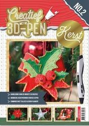 A4 boek Creatief met de 3D-pen 3DPENBA4002 Kerst
