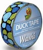 Duck tape Washi 104-03 Aqua Cobbles