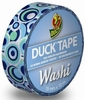 Duck tape Washi 104-04 Retro Blue