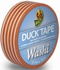 Duck tape Washi 104-20 Orange Stripes