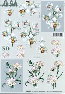 A4 Knipvel Le Suh 4169757 Bloemen orchidee/anjer