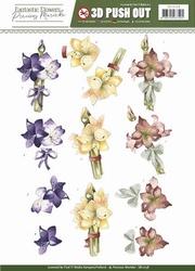3D Stansvel Precious Marieke SB10158 Fantastic Flowers