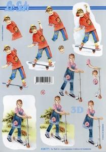 A4 Knipvel Le Suh 4169771 Skateboard/step lesuh