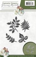 Precious Marieke's Die Fantastic Flowers PM10096 Leaves