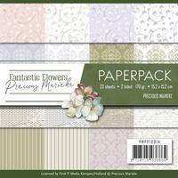 Precious Marieke's Paperpack 10014 Fantastic Flowers