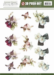 3D Stansvel Precious Marieke SB10155 Fantastic Flowers