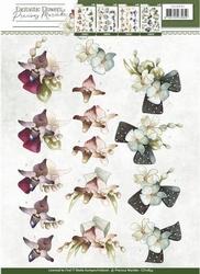 3D Knipvel Precious Marieke CD10854 Fantastic Flowers