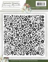 Precious Marieke's Emb Folder PMEMB10010 Fantastic Flowers