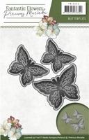 Precious Marieke's Die Fantastic Flowers PM10095 Butterflies