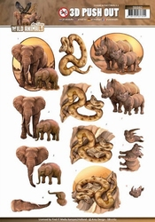 3D Stansvel Amy Design SB10162 Wild Animals Big Five 2