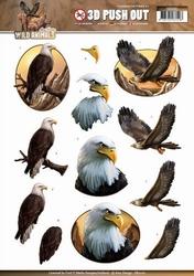 3D Stansvel Amy Design SB10161 Wild Animals Eagles/arenden