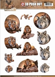 3D Stansvel Amy Design SB10160 Wild Animals Big Five 1